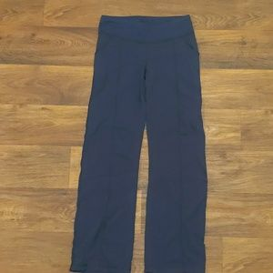 Lucy navy blue yoga pants joggers size small